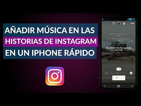 Cómo Añadir Rápidamente Música en las Historias de Instagram en un iPhone