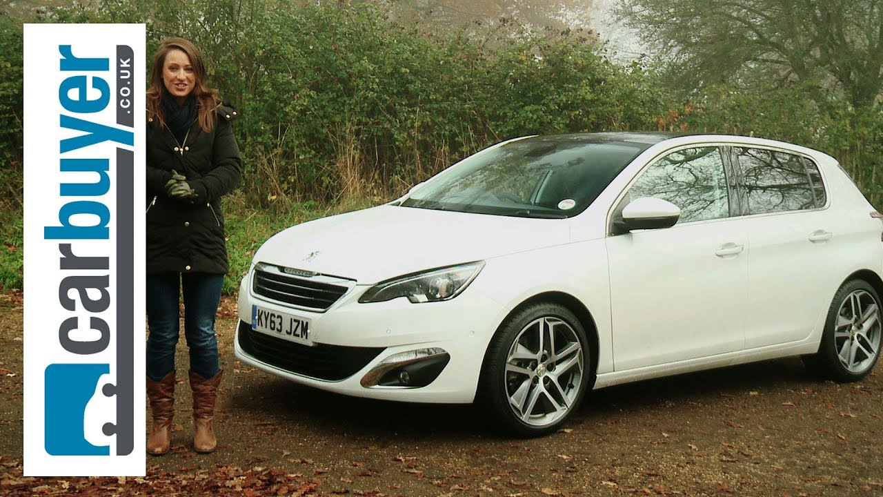 peugeot 308 hatchback 2014 review - carbuyer - youtube
