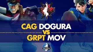 CAG Dogura (M.Bison) VS GRPT MOV (Chun-Li) - Canada Cup 2019 Pools - CPT 2019