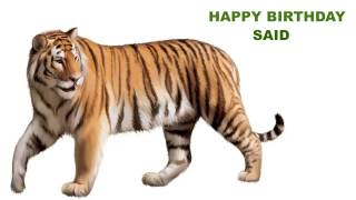 Said  Animals & Animales - Happy Birthday