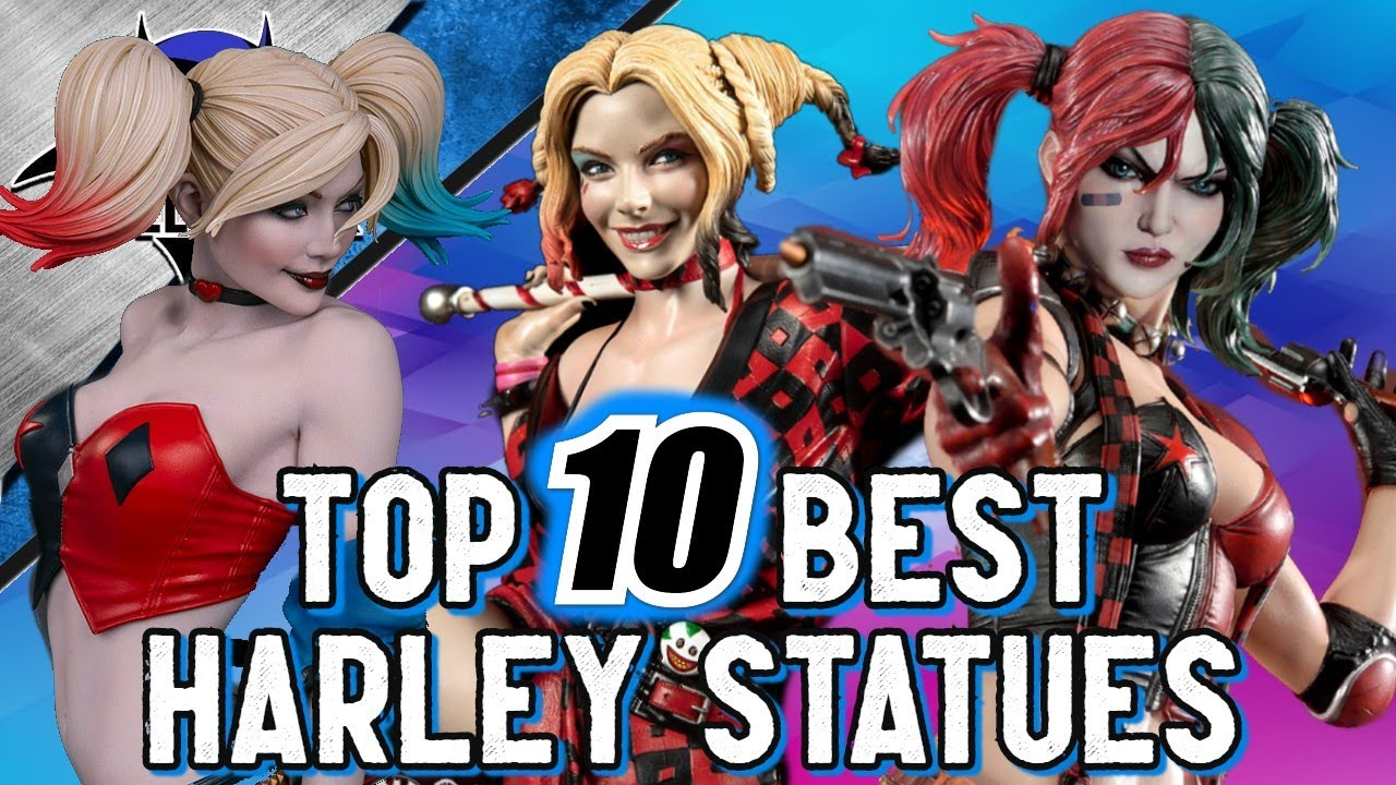 Top 10 BEST Harley Quinn Statues Of All Time!