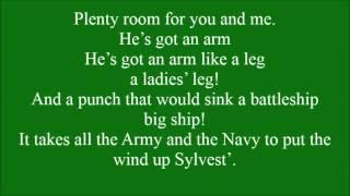 Big Strong Man with lyrics