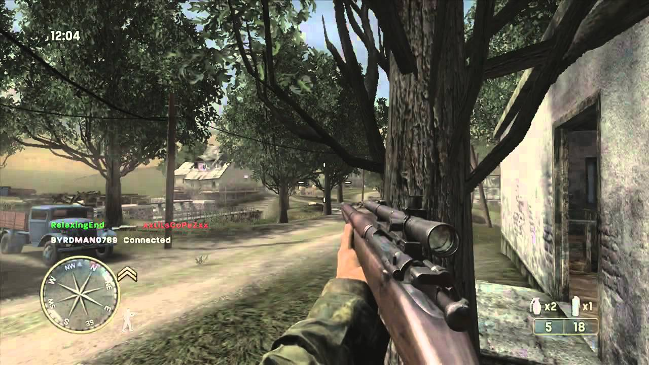Call of Duty 3 Multiplayer Gameplay - YouTube
