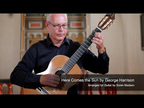 Here comes the sun the beatles george harrison danish guitar performance soren madsen