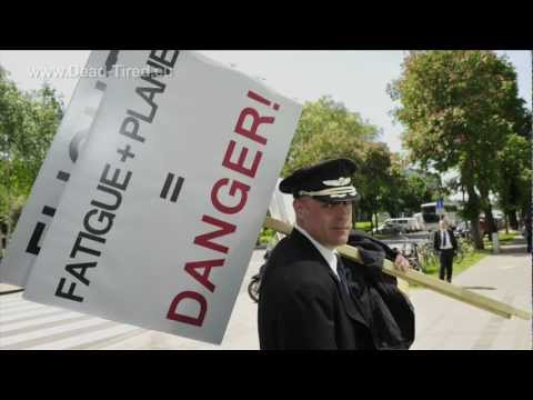 ECA & ETF Demonstrate in front of EASA