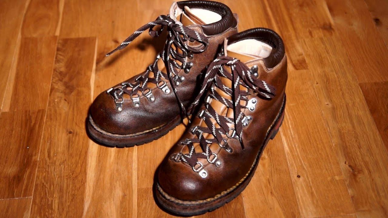 登山靴の手入れ ゴローS-8(10年目) How to care for Hiking Boots.