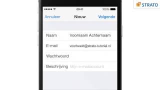 E-mail instellen op iPhone of iPad