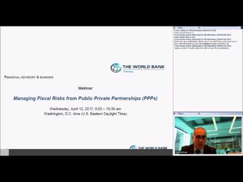 Managing Financial Risks from Public Private Partnerships: April 12, 2017