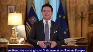 Videomessaggio del  Presidente Giuseppe Conte - 10 gennaio 2019