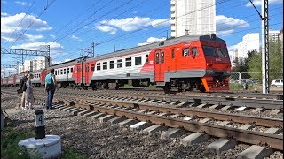 Rail trespassing in Moscow, Russia
