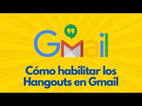 Cómo Habilitar Hangouts En Gmail