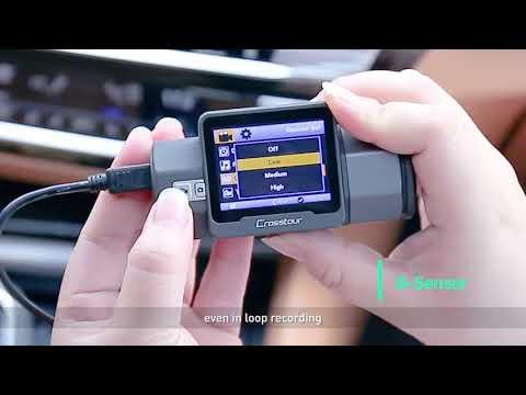 How To Use Crosstour Dash Cam CR700?