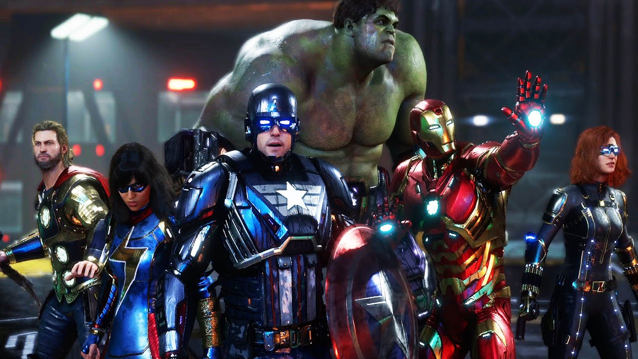 Download Marvel's Avengers Game Movie ( All Cutscenes)