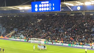 Leicester 1-1 Man City | Blues go through on penalties