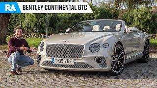 Bentley Continental GTC (635 cv). Luxo a CÉU ABERTO!