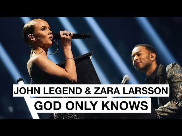 John Legend & Zara larsson - God Only Knows (Highlight) | The 2017 Nobel Peace Prize Concert