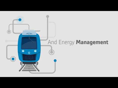 Animation: the Coradia iLint by Alstom - the worlds' first fuel cell passenger train