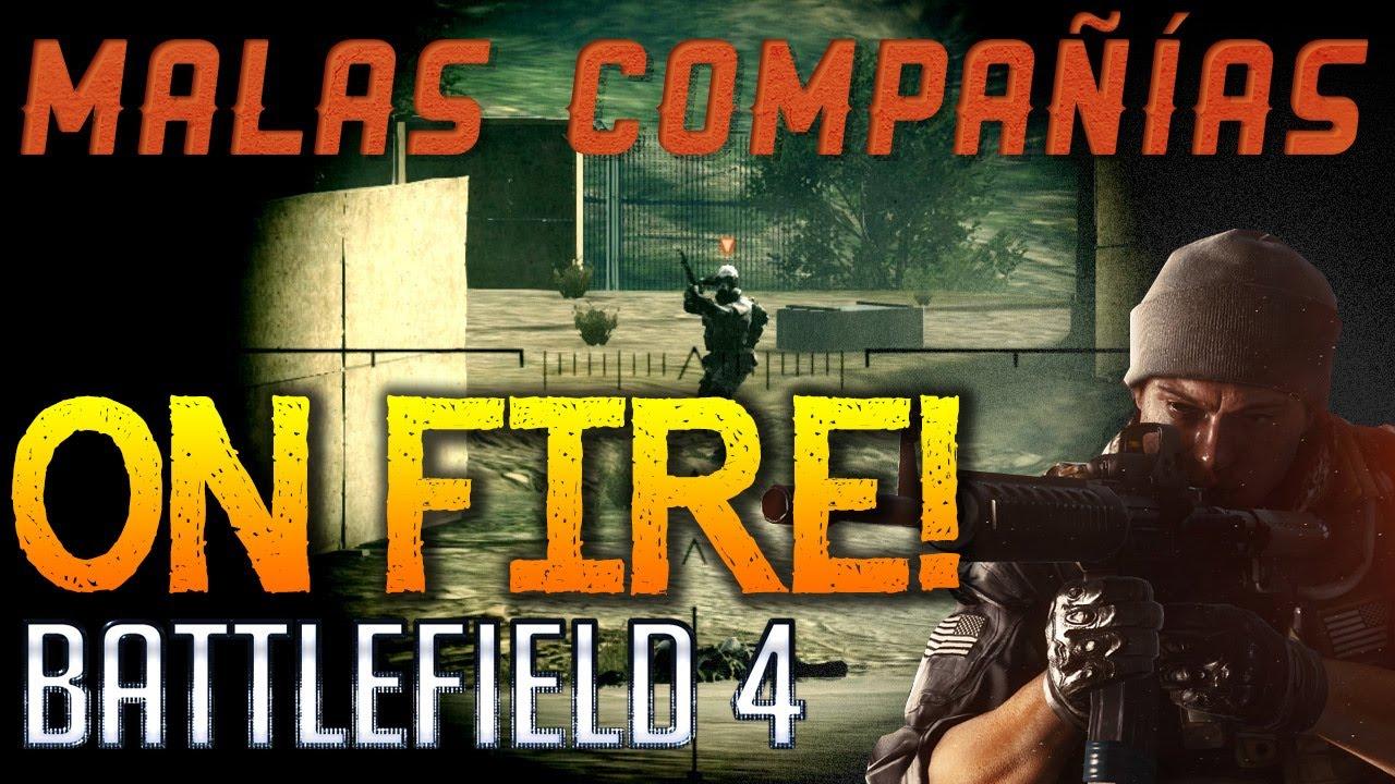 Battlefield 4 - Estamos ON FIRE! en Conquista - Malas compañías con Xavi, Pep, chiconuclear