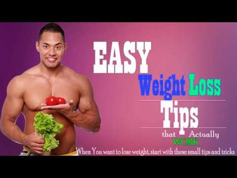 men's easy weight loss tips