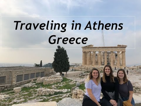 Ancient Sites in Athens | Greece Vlog 1