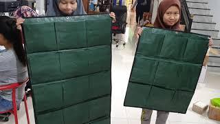 Green Wall Planter Bags Easy Grow 15 Kantong Planter Bag Dinding
