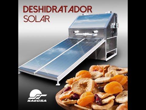 Deshidratador Solar Semi-Industrial SAECSA