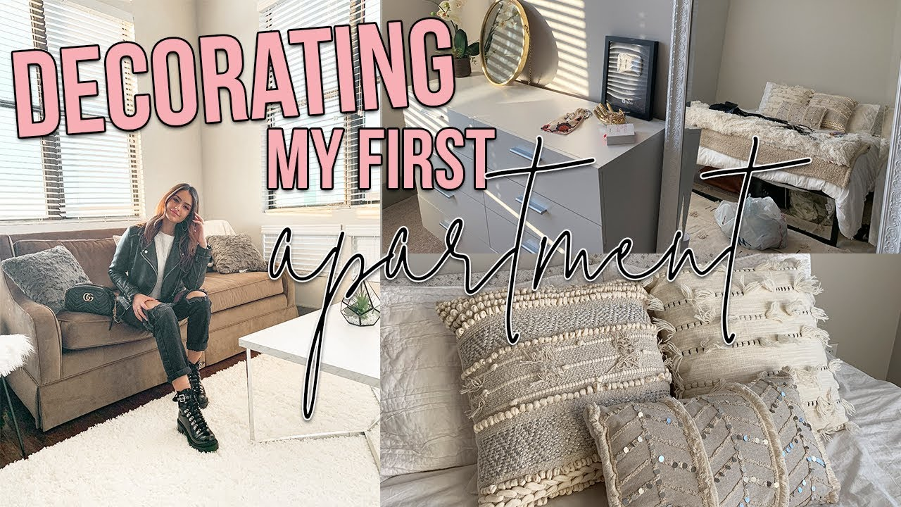 Weekend In My Life: DECORATE MY APARTMENT WITH ME - YouTube