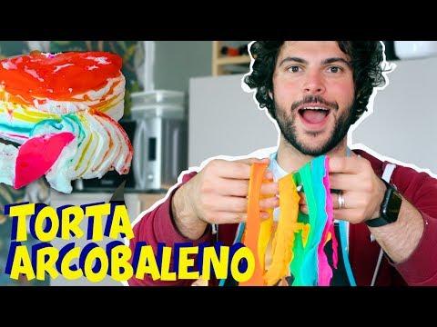 Rainbow cake - CUCINA BUTTATA