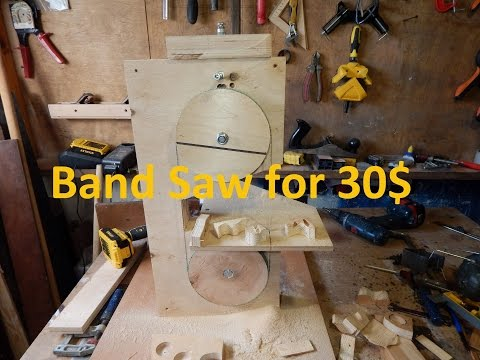 Band Saw for 30$ !!! Free plans. DIY.