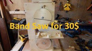 Zapętlaj Band Saw for 30$ !!! Free plans. DIY. | Volodymyr Kvaskov