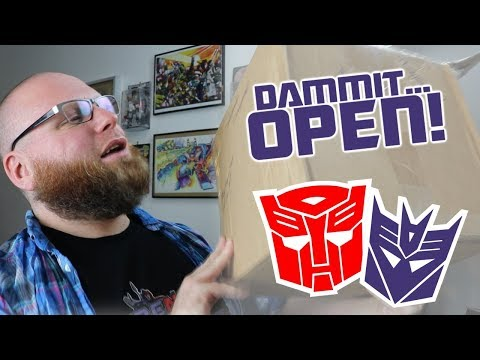 Dammit, Open: Poorness Maximus! Transformers, Brave, and Knockoff Toy Unboxing!