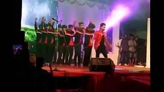 d4 dance fame kukku dancing in trivandrum onam mega show