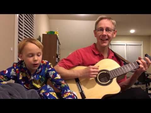 I am a Rock - Simon and Garfunkel cover - bedtime songs with the Kids