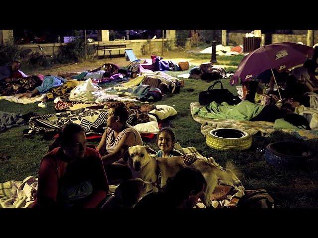 Hundreds spend night outdoors following Kos earthquake