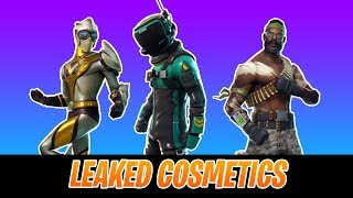 LEAKED COSMETICS/SKINS IN FORTNITE - Fortnite Battle Royale