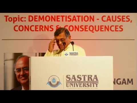 Demonetisation   Causes   Concerns & Consequences   Shri S Gurumurthy