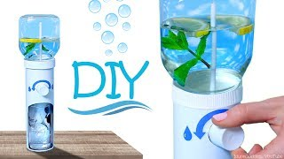 How To Make Working Water Dispenser – DIY Desk Water Cooler thumbnail