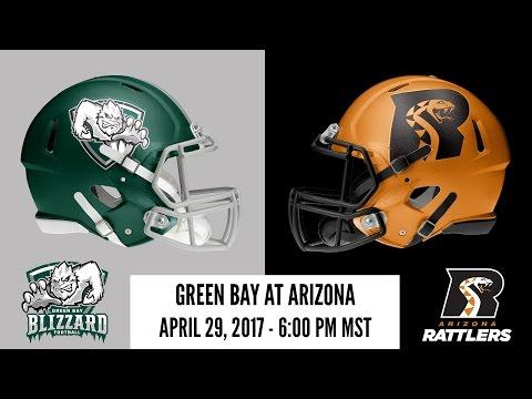 Week 11 | Green Bay Blizzard at Arizona Rattlers