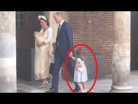 WATCH!!! Princess Charlotte TELLS Paparazzi