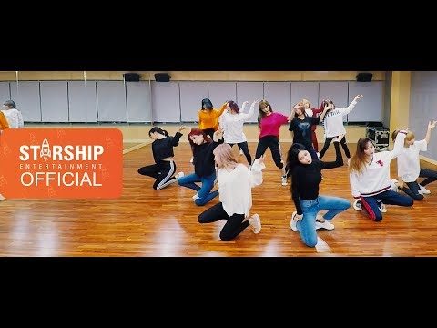 [Dance Practice] 우주소녀(WJSN) - 꿈꾸는 마음으로(Dreams Come True) Fixed Cam Ver.