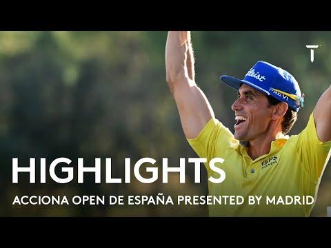Rafa Cabrera Bello winning round highlights |  2021 Acciona Open de España