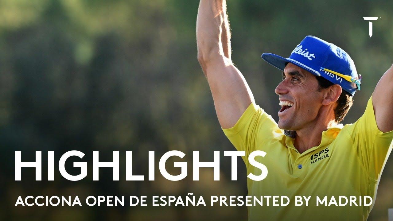 Rafa Cabrera Bello winning-round highlights   2021 Acciona Open de España