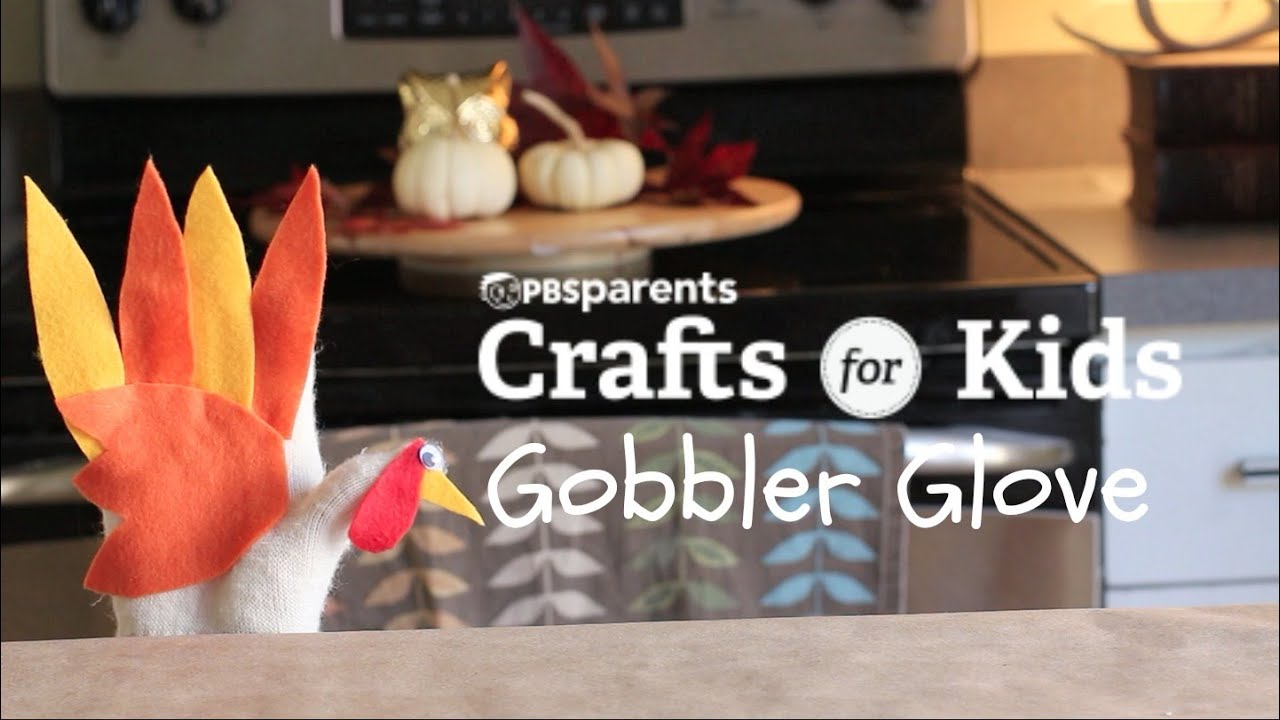 Diy Gobbler Glove Thanksgiving Crafts For Kids Pbs Parents Youtube