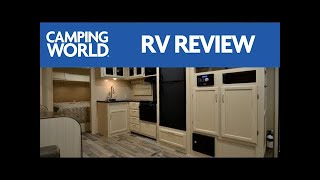 2017 Winnebago Minnie Plus 26RBSS RV Review | Premium Travel Trailer | Red | Graphite | Ian Baker