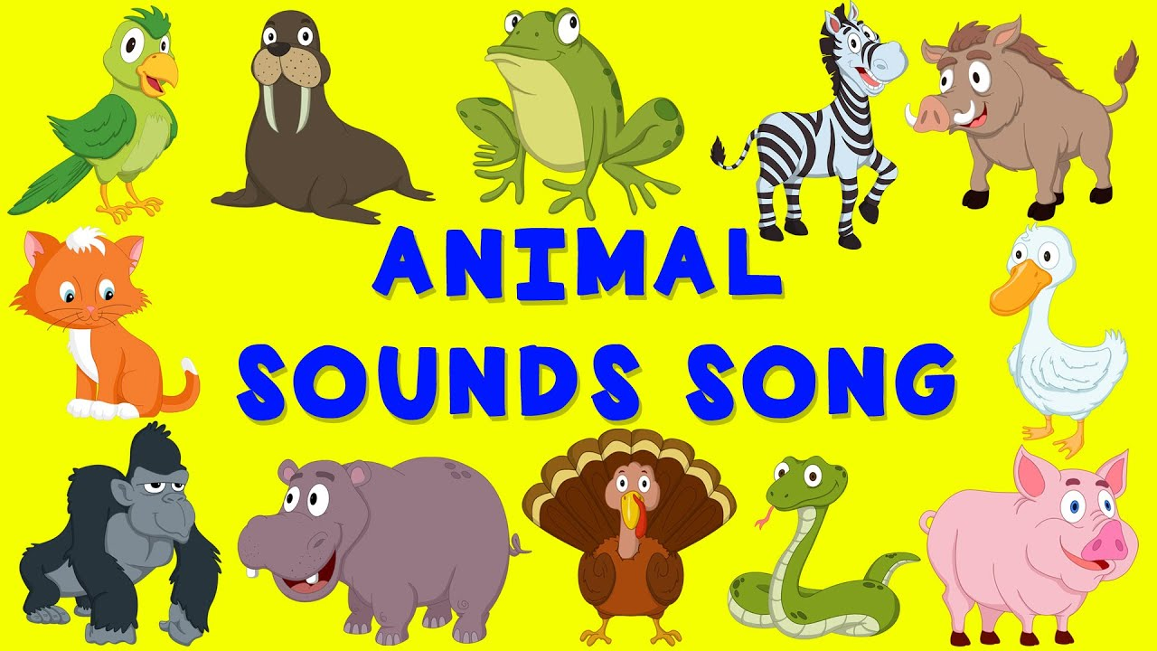 Animal Sounds Song | English Nursery Rhyme | Baby Song For Children    YouTube