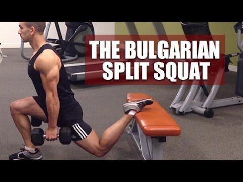Bulgarian Split Squats (Benefits And Proper Form)