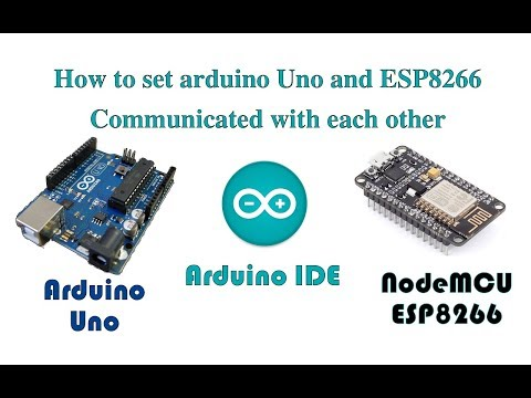 How To Make SoftwareSerial Communication Between Arduino Uno And NodeMCU