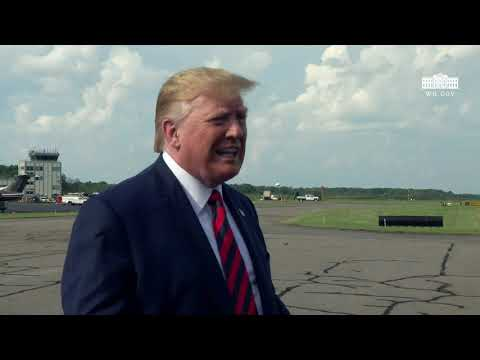 President Trump Delivers Remarks Upon Departure