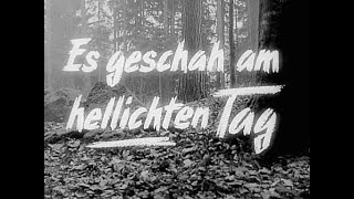 """Selections from the original motion picture scorefrom 1958 classic movie """"es geschah am hellichten tage""""starring heinz rühmann and gerd fröbedirected by ..."""