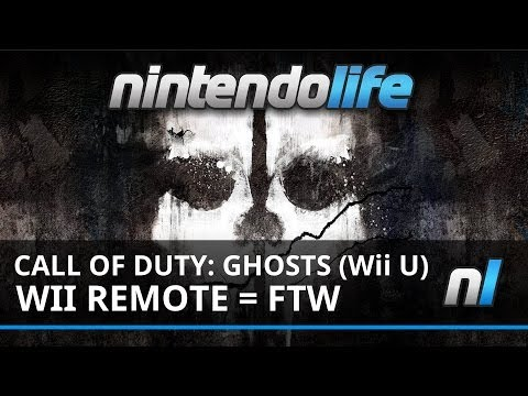 Call of Duty: Ghosts (Wii U) 15 Minutes of Wii Remote Gameplay